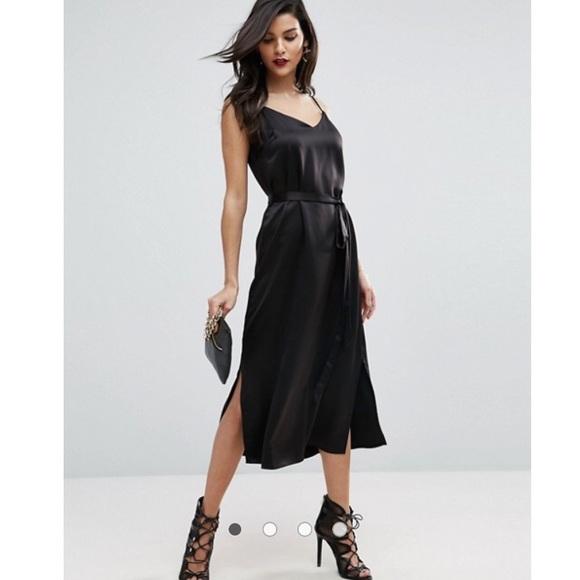b1d383633f66 ASOS Dresses | Slip Dress | Poshmark